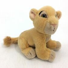 "Nala Plush Lion King Stuffed Animal Small 8"" Doll Toy Disney Store Plushie"