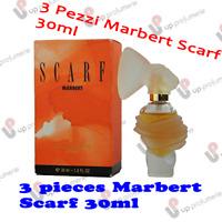 3 X MARBERT SCARF 30 ML EAU DE TOILETTE EDT SPRAY