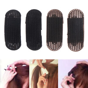 2x bump it up volume hair insert clip back beehive marking style tool holder GR