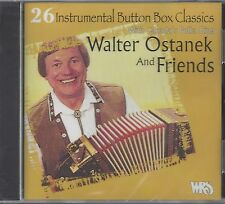 "WALTER OSTANEK  ""26 Instrumental Button Box Classics""  NEW SEALED POLKA CD"