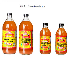 Bragg Organic Apple Cider Vinegar withThe 'Mother' Raw-Unfiltered - Special pack