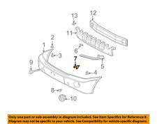 TOYOTA OEM 01-07 Highlander Front Bumper-Side Support Center Support 5214448010