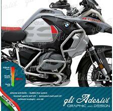 2 Adesivi Fianco Serbatoio Moto BMW R 1200 1250 gs Adventure LC GS new red grey