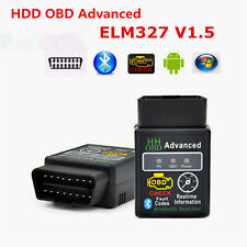 ELM327 HH OBD Advanced Bluetooth V1.5 ODB2 OBDII Auto Diagnostic Scanner Android