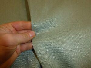 PALE GREEN - Linen Weave Upholstery Fabric (ZOFFANY - QUARTZ TWILL EAU DE NIL)