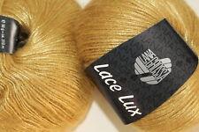 Wolle Kreativ! Lana Grossa - Lace Lux - Fb. 46 senf 50 g
