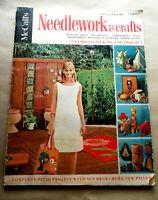 Vintage 1967 NEEDLEWORK & Crafts McCall's MAGAZINE 57 Fashions To Knit & Crochet