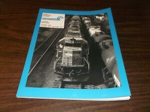 CONRAIL TECHNICAL SOCIETY REPRINTS VOLUME 1 ISSUE #'s 1-6