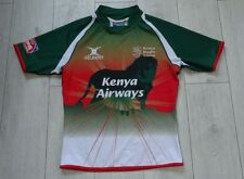 "Kenya Rugby Union #4 Match ""L"" Sevens IRB World Series Gilbert Shirt Jersey"