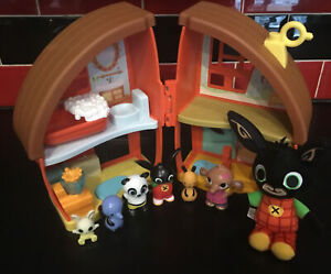 CBEEBIES BING BUNNY & FRIENDS FISHERPRICE BING'S HOUSE PLAY SET & FIGURES L@@K