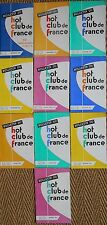 Lot de 10 x magazines BULLETIN DU HOT CLUB DE FRANCE Année 1962 Compléte