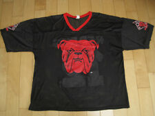 AWESOME LOGO!! 90s vtg RED DOG BEER promo 12 ounce MESH JERSEY SHIRT XL