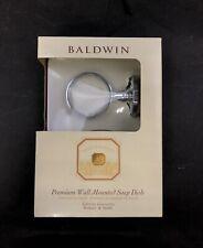 Baldwin Wall Mount Soap Dish in Polished Chrome - 3556-260-G
