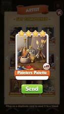25 x painters Palette :- Artist set :- Coin Master Cards ( Fastest Delivery )