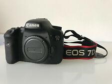 Canon EOS 7D 7 d Body, 18 MP SLR-Digitalkamera, APS-C, guter Zustand