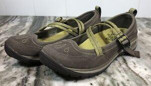 Chaco Petaluma Women's Size 6 Green Nubuck Mary Jane Casual Strap Trail Shoes