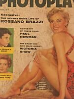 Vintage Collectible Movie Magazine Photoplay Sheree North Cover August 1956