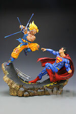 DRAGON BALL Z RESINA GOKU GOKOU vs SUPERMAN RESIN FIGURE FIGURA NEW. PRE-ORDER