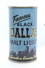 Famous Black Dallas Malt Liquor Flat Top