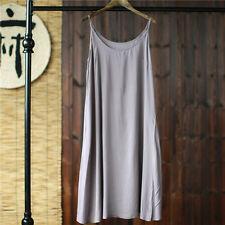 Unterkleid Riemchen Baumwolle Unterkleid Locker Petticoat Unterrock Nachthemd