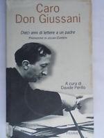 Caro Don Giussani 10 anni lettere Perillo davidePiemmereligione rilegato 86