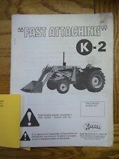 Koyker Fast Attaching K 2 Loader Owners Manual