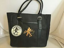 Elvis Presley Laptop Tote Bag Signature Product Black Gold Elvis Emblem New
