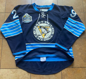 Pittsburgh Penguins Marc Andre Fleury Winter Classic Reebok NHL Jersey Mens 48