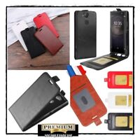 Etui housse coque Clapet Flip Cuir PU Leather Case Wallet Sony Xperia XA2