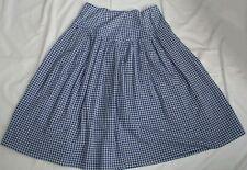 BELLEROSE SKIRT blue & white cotton size 1: UK 8 / EU 36 / US 6  GORGEOUS