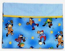Toddler Pillowcase for Baseball Players on Blue 100%Cotton #Bb5 New Handmade