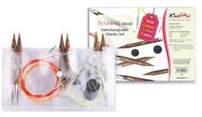KnitPro Symfonie Holz Stricknadeln CHUNKY SET in Vinyl Tasche Knit Pro 20603
