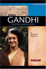 Indira Gandhi: Political Leader in India (Signatur