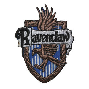Harry Potter Ravenclaw logo Patch Iron On Patch Sew On Badge Embroidered Patch