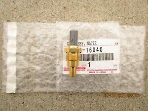 93 - 97 LEXUS GS300 3.0L WATER TEMPERATURE GAUGE SENDER SENSOR OEM NEW