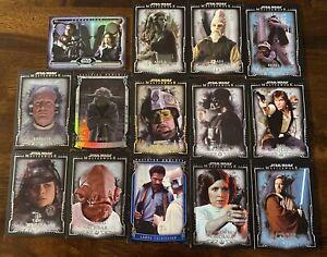2015 Star Wars Masterwork Defining Moments Lot, 14 Cards, Yoda, Darth Vader