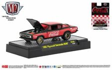 M2 Machines Coca Cola Hobby Release RC02 '68 Plymouth Barracuda HEMI