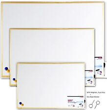 Magnetic White Boards Dry Wipe Small Medium Large Office School Drawing Board