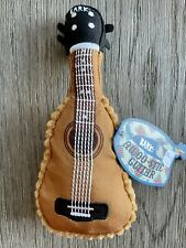 Bark Awoo-stic Guitar Dog Toy Squeakaway Camp Box - Size Xs/S