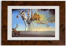 """TEMPTATION OF SAINT ANTHONY"" Framed Print by SALVADOR DALI"