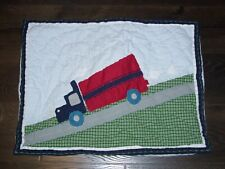 Pottery Barn Kids Truck Standard Twin Brody Quilted Sham
