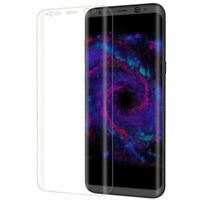 """4 films de protection d'écran incurvé pour Samsung Galaxy S8 (5,8"""")"""