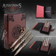 Assassins Creed Game Aguilar 3 Pc Throwing Knives Set Replica Officialy Licensed