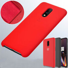 Original Liquid Silicone Back Case Shockproof Cover For OnePlus 7T Pro 6T 6 5T 5