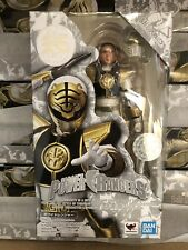S.H.Figuarts White Ranger Mighty Morphin Power Rangers Bandai Action Figure NEW