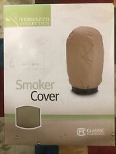 Smoker Cover Terrazzo Collection Beige 20� x 36� Round New In Box Classic Acces