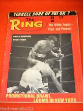 July The Ring Boxing Sports Magazines in English