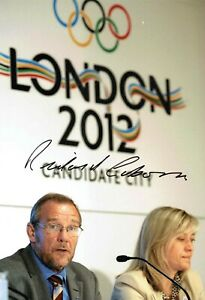 Richard CABORN SIGNED Autograph Photo AFTAL COA Labour MP Sports Minister