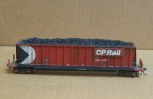 MFG? HO CP Rail Bathtub Gondola w/Coal Load