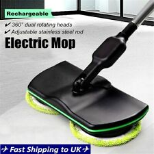 Cordless Rotary Electric Rechargeable Floor Mop Home Cleaner Scrubber   D1